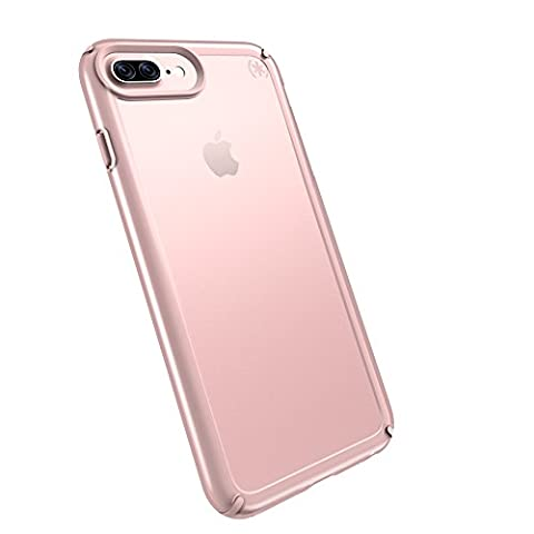 Speck Products Presidio SHOW Cell Phone Case for iPhone 7/6S/6 - Clear/Rose Gold (Iphone 6 Speck Clear Case)