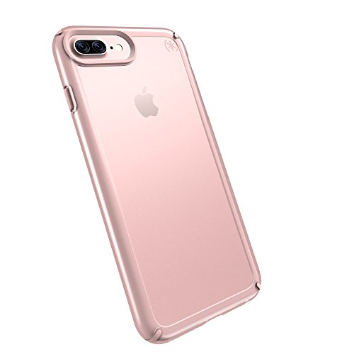 Speck 88203-6244 Presidio Show Schutzhülle für Apple iPhone 7/6S/6, 11,93 cm (4,7 Zoll) klar/rose gold