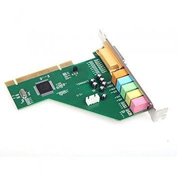 Kingzer 6 canales Tarjeta de sonido PCI: Amazon.es: Electrónica