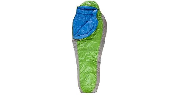 The North Face Schlafsack Snow Leopard - Saco de dormir momia para acampada (hasta 164 cm, fibra sintética, de 0,5 a 0,99 kg, izquierdo, derecho), ...