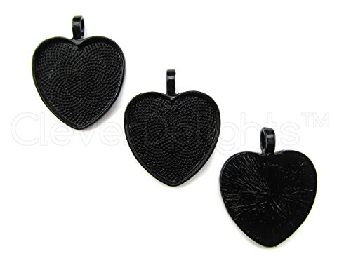 Heart Bail Pendant (10 CleverDelights 1