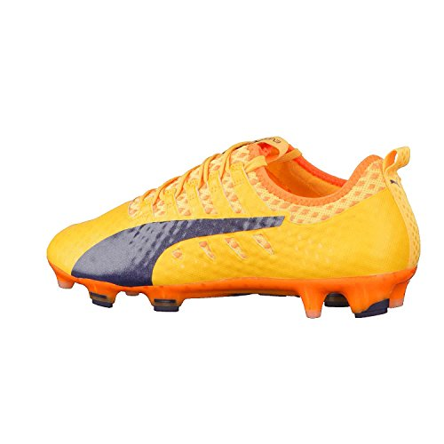 Puma Herren evoPOWER Vigor 1 FG Fußballschuhe orange / blau