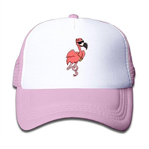Kkidj Ooii Mesh Baseball Cap Mens&Girls Youth Snapback Hat Cool Flamingo With - Hutt Sun Glass