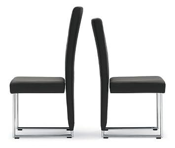 Rolf Benz Model 7400 Chair Leather Black Amazon Co Uk