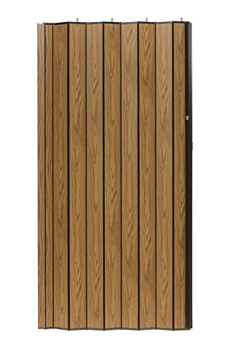 LTL Home Products WF4880LO Woodshire Multifold Interior Accordion Folding Door 48 x 80 Inches Light ()