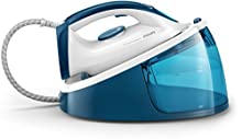 Philips Plancha con generador de Vapor GC6733/20 Centro de Planchado Fastcare, 2400 W, 1.3 litros, Azul, Blanco