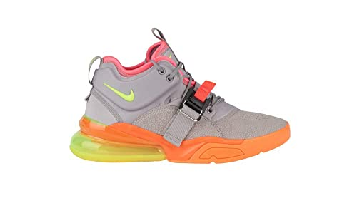 new style 8bd3b 4ed7b Amazon.com | Nike Air Force 270 Atmosphere Grey-Volt AH6772 ...