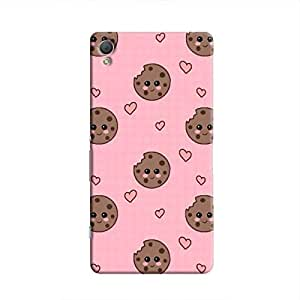 Cover It Up Cookie love Hard Case for Xperia Z4 - Multi Color