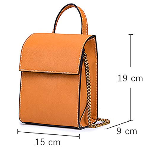 Cuir Vachette Porter Casual Est Bandoulière Green À Sac Ybybyb Matériau Backpack Solide Retro Le Facile F0AUzqwO