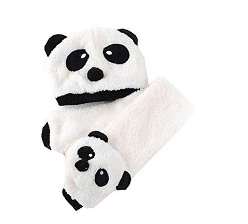 Winter Cute Panda Earmuff Ear Muff Warmer-White - 8