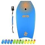 "BPS 'Green Machine' 41"" Bodyboard - Kids Adult Surfers - EPS Core Lightweight"