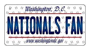 Amazon.com: Nationals Fan Washington DC Novelty Metal