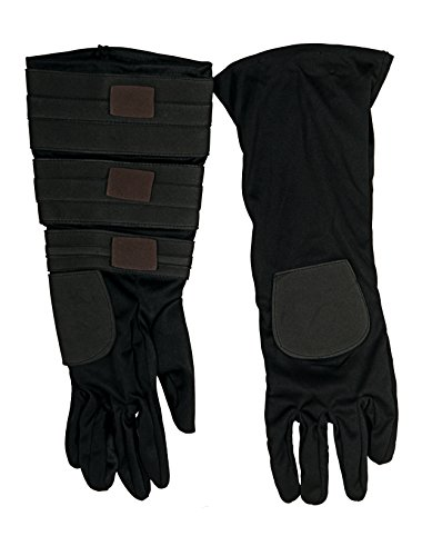 Rubie's Costume Men's Star Wars Clone Adult Anakin Gloves, Multicolor, One (Adult Anakin Skywalker Gloves)