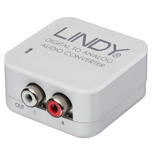 Lindy SPDIF Digital to Analog Stereo Audio Converter (70408)