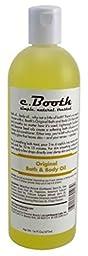 C.Booth Original Bath & Body Oil 16oz (3 Pack)