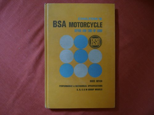 BSA Motor Cycle Repair and Tune-up Guide