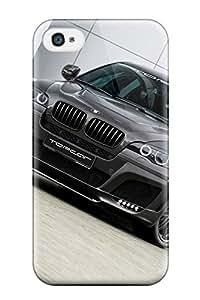 Fashion IkFHEuL1554NdKiE Case Cover For Iphone 4/4s(lumma Clr X650 Carbon Grey X Cars Bmw)