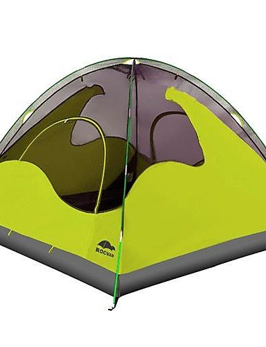 G&T ROCVAN 3 Season A058B 3 Person Double Layer Fiberglass Pole Camping Tent