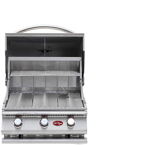 Cal Flame 089245002116 3 Burner Grill Head, Stainless Steel ()