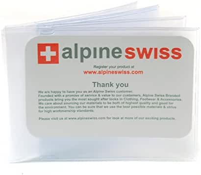 SET OF 2 Wallet Inserts Replacement 6 pg Card Holder Made in USA by Alpine Swiss