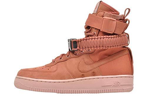 Nike W Sf Af1 - Dusty Peach/Dusty Peach Womens Style: 857872-202 Size: 9.5