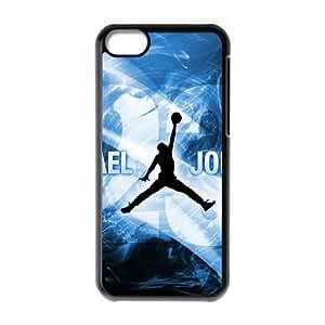 iPhone 5c Cell Phone Case Black Jordan logo R2E8G