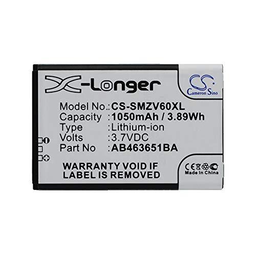 Replacement Battery for Samsung Katalyst T739 SGH- T739 Katalyst SGH-A637 SGH-A697 SGH-R450 SGH-R450 Katalyst SGH-S390G SGH-T739 SGH-W559 SGH-ZV60 Sunburst ()