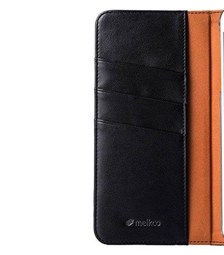 Melkco PU Bzone Series Book Style Case für Apple iPhone 6 14 cm (5,5 Zoll) rot