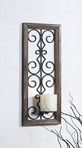 Velas para /árbol de Navidad con adornos de pared