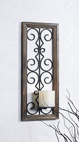 Velas Para Arbol De Navidad Con Adornos De Pared Amazones Hogar - Adornos-para-paredes