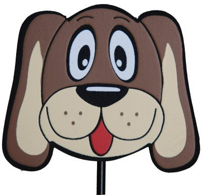 Aerialballs Cute Hound Dog Aerial Antenna Topper or Dashboard Wobbler - (one P&P charge no matter how many items you buy from