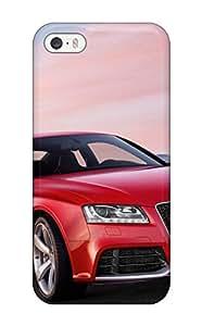 Robin Boldizar es tienda de Tpu para iphone 5/5S fuerte protegeré - Audi Suv 5 Diseño caso