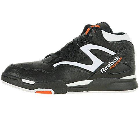d5664c1ad17f4a Galleon - Reebok Pump Omni Lite Mens Leather Hi Top Sneakers-Black-10