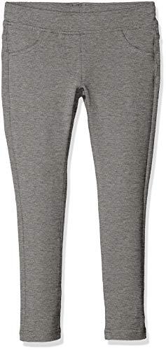 United Colors of Benetton Trousers, Pantalones para Niñas Gris (Melange Dark Gray 507)