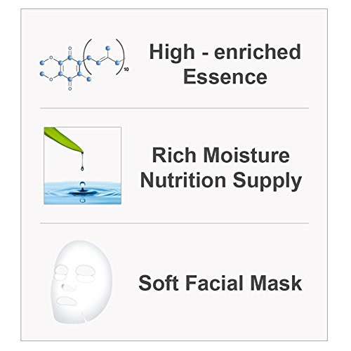 The Elixir Beauty MJ Care Korean Cosmetic Mask Pack Sheet - Premium Bird's  Nest Essence Mask (23g, 35 Pcs)