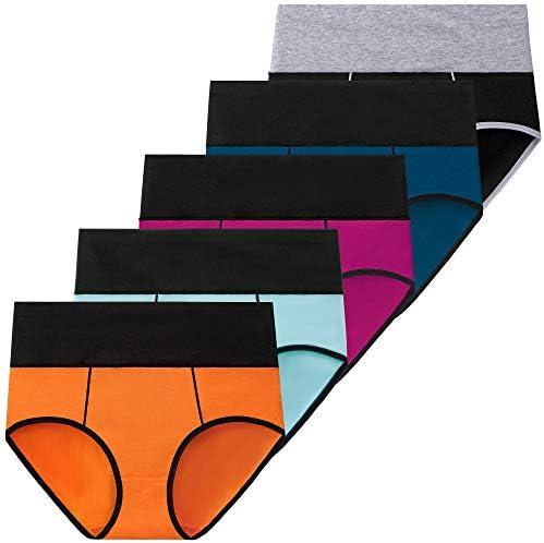 ANNYISON Womens Underwear, Soft Cotton High Waist...