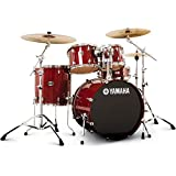 Yamaha Stage Custom Birch Drum Set - Cranberry Red