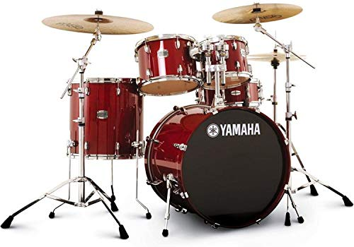 (Yamaha Stage Custom Birch Drum Set - Cranberry Red)
