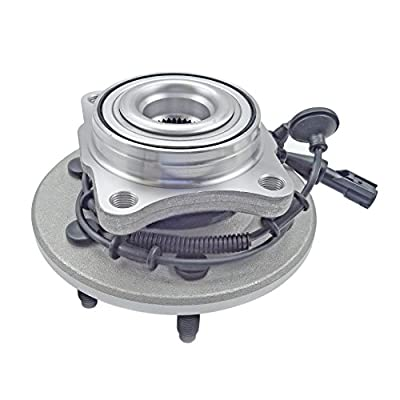 CRS NT541001 New Wheel Bearing Hub Assembly, Rear Driver (Left)/ Passenger (Right), fits for 2003-2006 Ford Expedition,4WD/ AWD/RWD, Lincoln Navigator,4WD/ RWD: Automotive