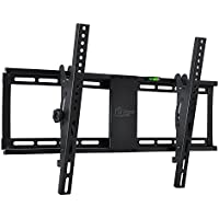 Tilt TV Wall Mount Bracket for 32-75 Samsung Sony Vizio LG Sharp Panasonic LED LCD Plasma Flat Screen TVs with ±15 Degrees of Tilt VESA 600x400mm Fits 16 and 24 Wall Studs 165lbs Capacity