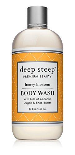 Deep Steep Body Wash (Honey Blossom, 17 Ounce) ()