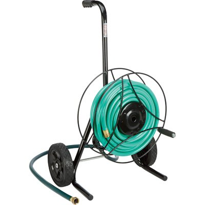 Ironton Garden Hose Reel Cart - Holds 100Ft.L x 5/8in. Dia. Hose by Ironton (Image #2)