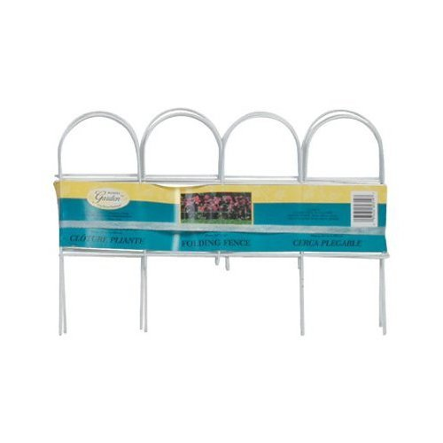 Panacea 89319 Mini Arch Folding Fence, White ()