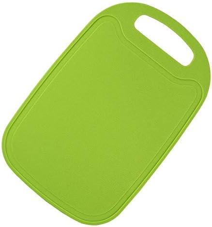 まな板 1PCSまな板ノンスリップフロストキッチンまな板調理用品プラスチック製ミニまな板 LCLJP (Color : 緑, Size : M)