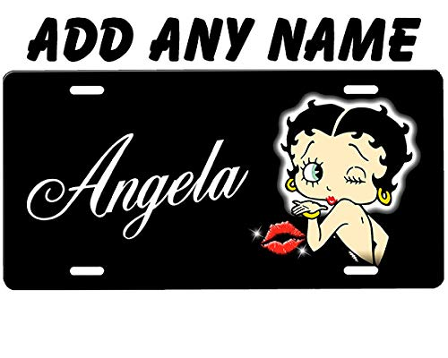 - Betty Boop License Plate