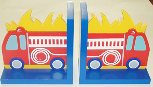 Fire Truck Bookends (Red Fire Truck Bookend Set (Red))