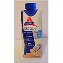 ATKINS Advantage Vanilla Shake 11 OZ (325 ml) (Pack of 12)