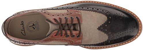 Clarks Mens Pitney Limite Oxford Brown