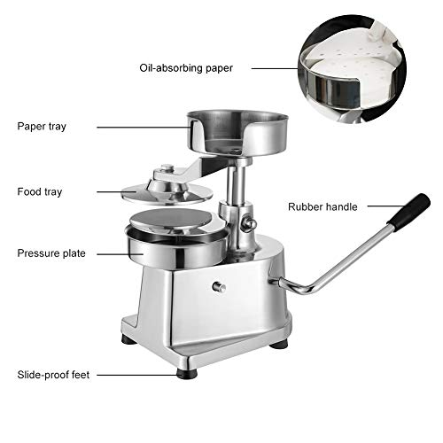 Hamburger Patty Maker,Commercial Hamburger Press Patty Maker Machine Garden BBQ Tools Sandwich Makers Panini Presses for Grilling Meat Seafood Vegetarian Patties by GOLDEN ELEPHANT (Image #2)