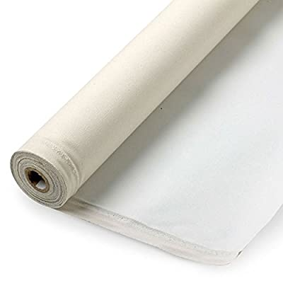 Manufacturer's Outlet Primed Cotton Canvas Roll 20 Yds x 63""